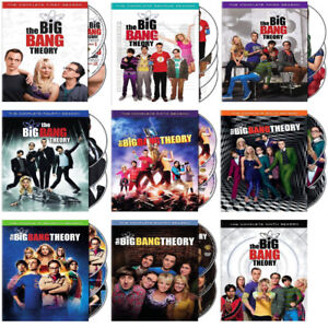 Big Bang Theory DVD Box Sets-$10 each