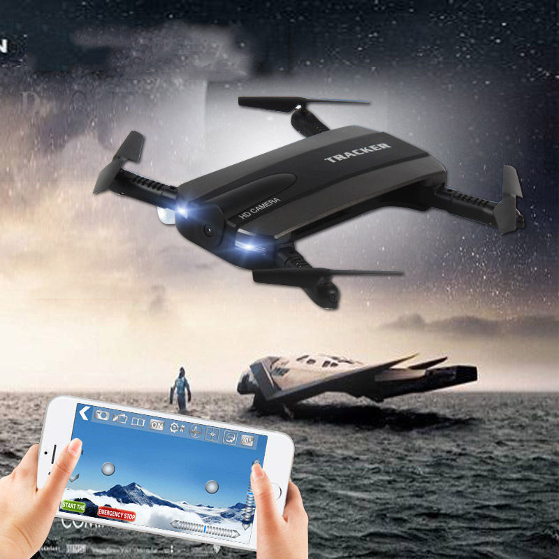 2.4G 4CH Altitude Hold HD Camera WIFI FPV RC Quadcopter Pocket Drone Selfie Fold