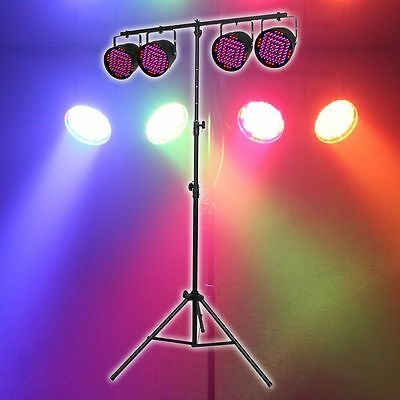 NEW Complete LED DJ Lighting System.Party Event Music.DJ Equipment.Wedding - Party Equipment