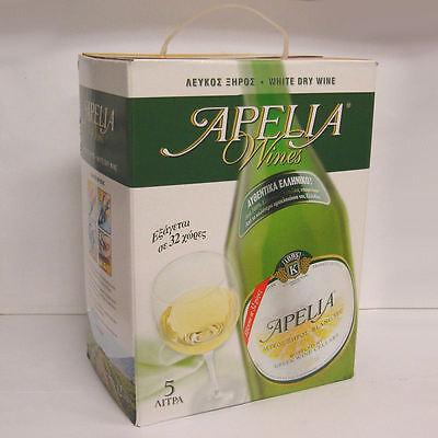Greek Wine Cellars Kourtaki Apelia 5l Weißwein trocken Bag in Box mit Zapfhahn
