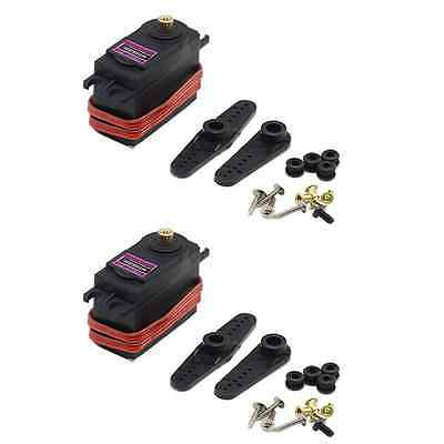 2x TowerPro MG996R Digital Metall Getriebe Servo RC 13kg/cm 55g JR Graupner