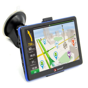 Portable Car GPS  7-Inch screen, US and Canada Lifetime Maps