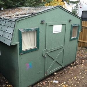 10 ft x 10 ft Bunkhouse/shed
