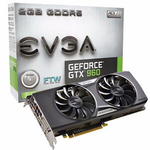 "EVGA GTX 960 2gb ""NEW Sealed Box"""