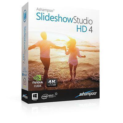 Ashampoo Slideshow Studio HD 4 lebenslange Lizenz  Download -Aktion