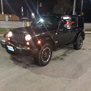 2012 Jeep Wrangler Unlimited Altitude FULLY LOADED