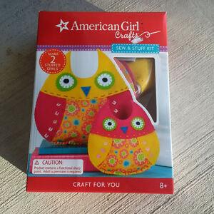 Sew & stuff kit - 2 stuffed owls