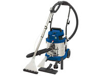 Draper 20L 1500W WET DRY SHAMPOO CARPET CLEANER VALETING upholstery MACHINE