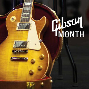 Own a Gibson Guitar NOW! Gibson Month at Long & McQuade!