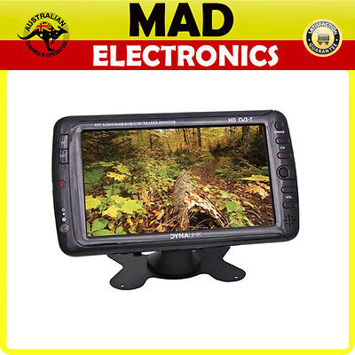 "7"" Inch Digital In-Vehicle Portable Television DVB-T TV MPEG4 AVI MP3"