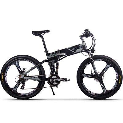 RICHBIT TOP-860 36V 250W Bicicleta ElÉCtrica Plegable Con Doble Amortiguador