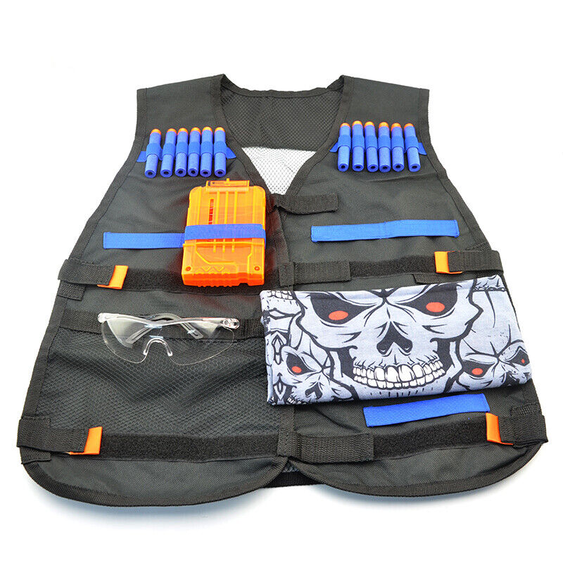 LNL Tactical Vest Kit Compatible for Nerf Guns for Boys N-El