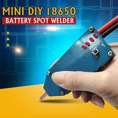 Portable Mini Diy 18650 Battery Spot Welder 4v-12v