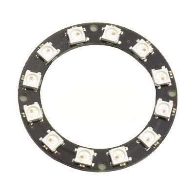 RGB LED Ring 12 Bit WS2812 5050 RGB LED + Integrated Driver Module AIP