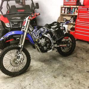 Yamaha yz450 2009