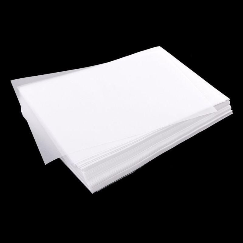 100 Stück Transluzent Pauspapier Handwerk Kalligraphie Künstler Zeichnung Blatt