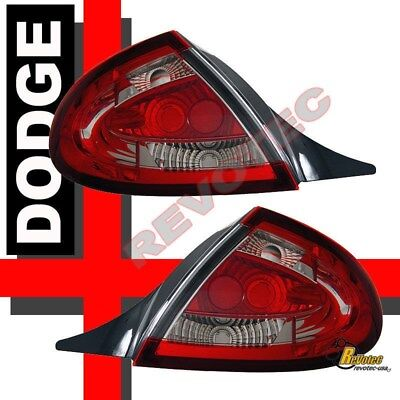 00-02 Dodge Neon SE R/T ES Red Euro Tail Lights Lamps RH + LH Dodge Neon Tail Lamp