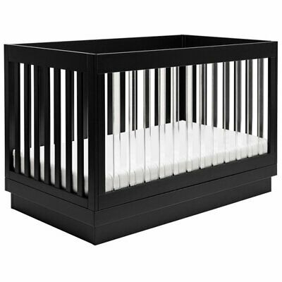Babyletto Harlow 3-in-1 Convertible Crib with Toddler Bed Co