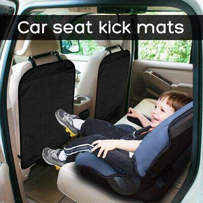 2x Schutzmatte für Rückseite Auto-Vordersitze Rückenlehnenschutz Sitzschoner