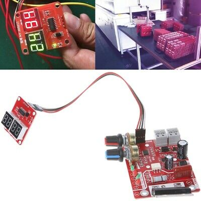 Spot Welder Time Control Board 100a Updating Current With Digital Display
