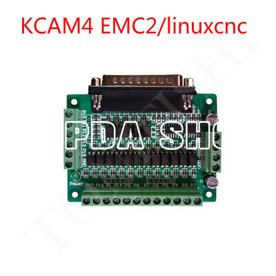 Cnc Interface Board Optical Isolation Support Kcam4 Emc2 Linuxcnc