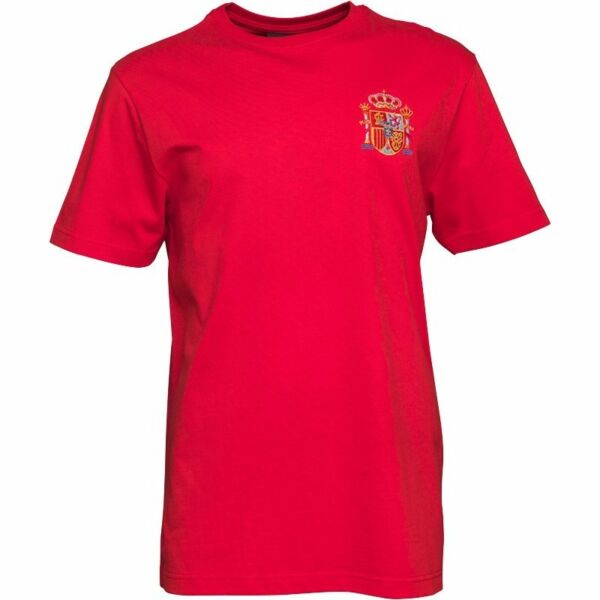 Toffs Mens Spain Number 7 T-Shirt - Red (Size L) (Brand New With Tags)