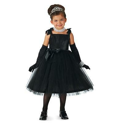 Black Princess Girls Costume, Goth Beauty, Fairy Movie Star M (8) & L (10)](Movie Star Girls Costume)