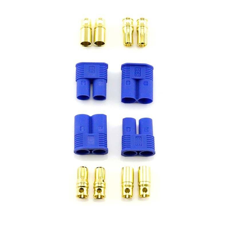 HobbyStar EC8 Connectors, X2 Plugs 190A HIGH CURRENT US SELLER