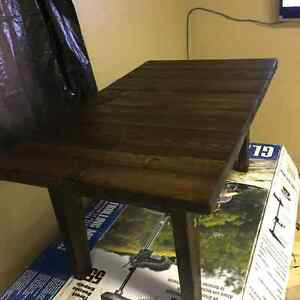 Custom made coffee table and end tables(LOCATED IN WHOTECOURT)