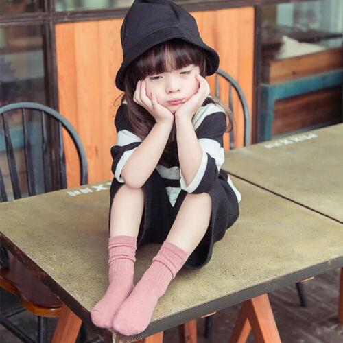 For Age Years4-10 Popular Cartoon Toddlers Kids Girls Socks New Korean Style