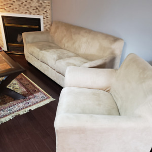 Sofa and Love seat in good condition