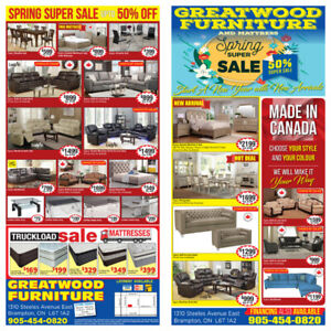 SPRING SALE !!! BRAND NEW FURNITURE UPTO 70%% OFF..