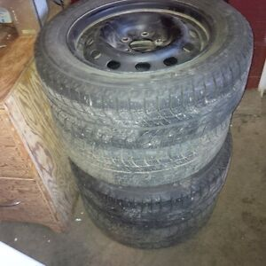 2006 Ford Fusion winter rims and Micheln X ICE tires