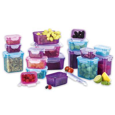 Frischhaltedosen Klick-it 36tl Plastik Brotdose Lunchbox Aufbewahrung Mikrowelle