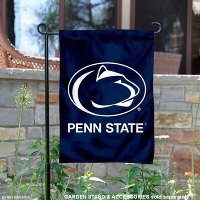 Penn State Nittany Lions Blue Garden Flag and Yard Banner