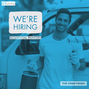 Residential Painters - Entry Level to Experienced