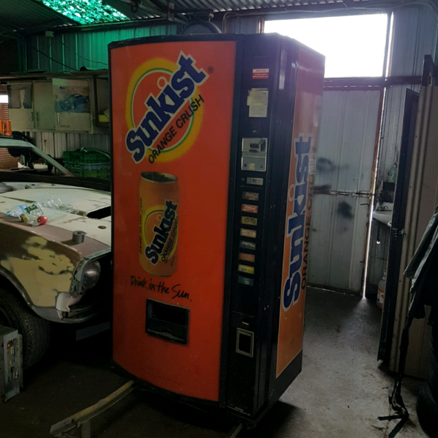 Coke Pepsi Sunkist Vending Machine Collectables