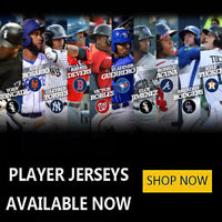 2019 season MLB jersey available now