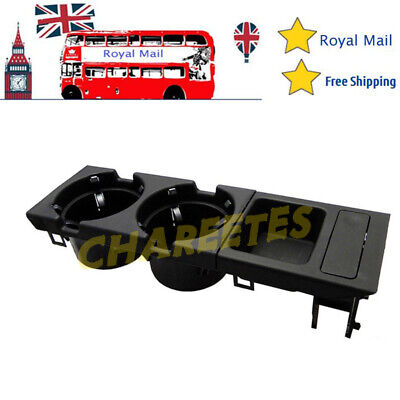 FOR BMW 3 Series E46 1999-2006 Center Console Cup/Drinks Holder Coin Storage UK