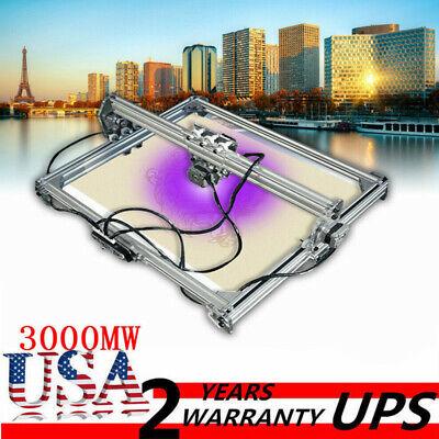 3000mw 65x50cm Area Mini Laser Engraving Cutting Machine Printer Kit Diy Desktop