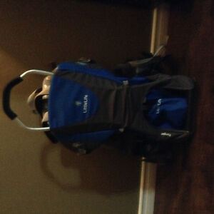 Little life ranger baby carrier. High quality and worth it.