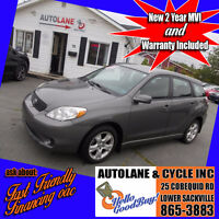 2007 Toyota Matrix Xr Hatchback SHARP CAR Only $5995 Bedford Halifax Preview