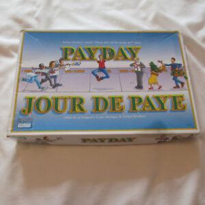 1994 Jour de Paye jeu de SOCIETE PARKER BROTHERS