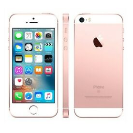 Christmas sales iPhone SE 16GB Rose Gold Unlocked