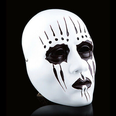 Heavy Metal Slipknot Band Joey Jordison Mask Halloween Party Costume Resin Prop - Heavy Metal Band Halloween
