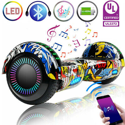 "6.5"" UL2272 Hoverboard Bluetooth Electric Self Balance Scooter NO Bag Best Gift"