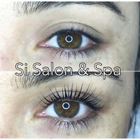 EYELASH PERM NATURAL LASH LIFT GROWTH & CURL $55 NO EXTENSIONS