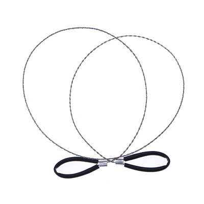 Lightweght Stainless-Steel Wire Saw Outdoor Survival Tool Kit Survival Saw YH Z0 - 3