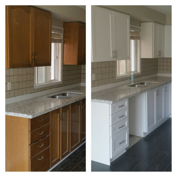 CABINET REFACING FOR LESS | Cabinets & Countertops | City ...