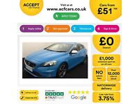 Volvo V40 1.6 D2 ( 115bhp ) ( s/s ) 2013MY R-Design FROM £51 PER WEEK!